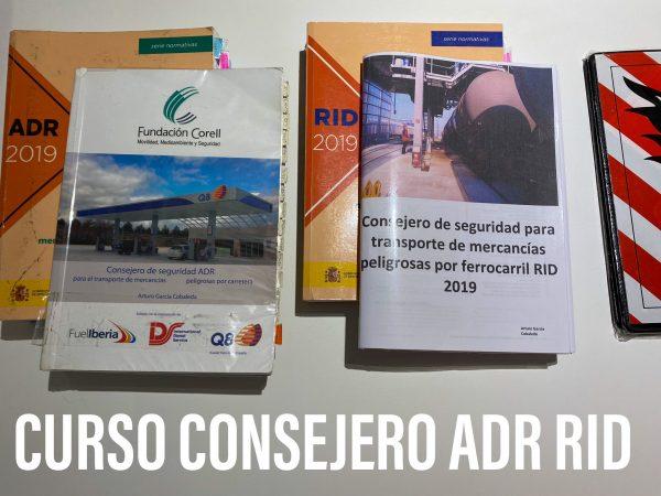 Curso consejero ADR RID 2019